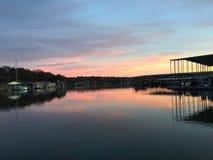 Contador de tiempo del lago Imagenes de archivo