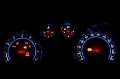 Contador de velocidad auto Imagen de archivo