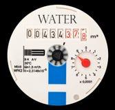 Contador del agua Foto de archivo libre de regalías