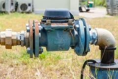 Contador del agua Foto de archivo