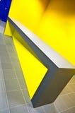 Contador del gimnasio del diseño moderno Imagenes de archivo