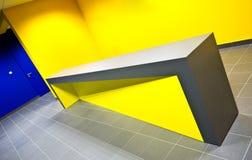 Contador del gimnasio del diseño moderno Foto de archivo libre de regalías