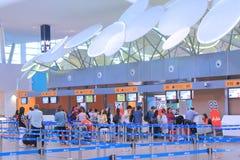 Contador del incorporar de Kuala Lumpur International Airport 2 imágenes de archivo libres de regalías