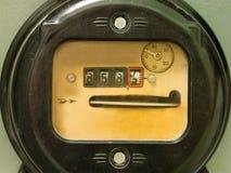 Contador del suministro de electricidad fotografía de archivo libre de regalías