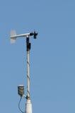 Contador del viento - anemómetro Fotos de archivo libres de regalías
