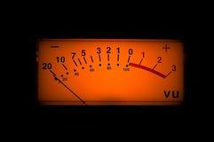 Contador del Vu foto de archivo
