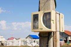 Contador eléctrico Fotos de archivo libres de regalías