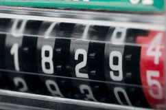 Contador eléctrico Fotografía de archivo libre de regalías