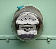 Contador eléctrico Imágenes de archivo libres de regalías