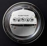 Contador eléctrico Fotos de archivo