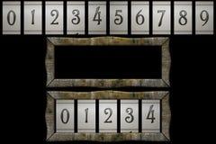 Contador retro Imágenes de archivo libres de regalías