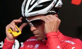 Contador Trek team training camp in Mallorca Stock Photography