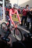 Contador Trek team training camp in Mallorca Stock Photos