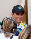 Contador wint 91ste d'Italia van de Giro Stock Fotografie