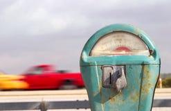 Contador y carro de la playa de Retro Fotografía de archivo libre de regalías