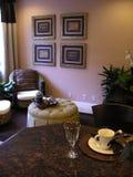 Contador y sala de estar Imagen de archivo