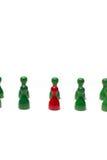 Contadores con diverso color Imagen de archivo libre de regalías