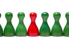Contadores con diverso color Fotografía de archivo