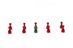 Contadores con diverso color Foto de archivo libre de regalías