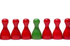 Contadores con diverso color Imágenes de archivo libres de regalías