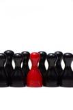 Contadores con diverso color Foto de archivo