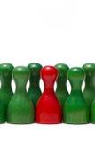 Contadores con diverso color Fotos de archivo