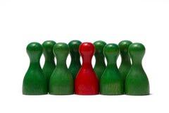 Contadores con diverso color Fotografía de archivo libre de regalías