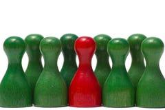 Contadores con diverso color Imagen de archivo
