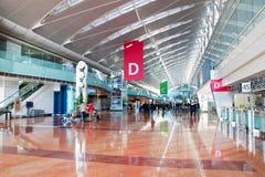 Contadores de enregistramiento en el aeropuerto internacional de Tokio foto de archivo libre de regalías