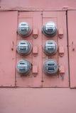 Contadores utilitarios Imagen de archivo