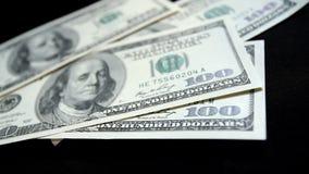 Contagem do dinheiro criminoso - vídeo conservado em estoque video estoque