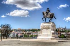 Contagem Gyula Andrassy Statue Foto de Stock