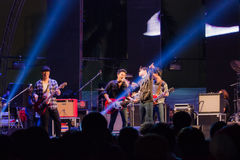 Contagem regressiva 2013 da música de HUA HIN Fotos de Stock