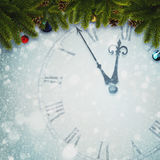 Contagem regressiva ao ano novo Imagens de Stock Royalty Free
