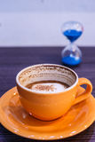 Contagem regressiva do café Foto de Stock Royalty Free