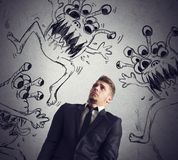 Contagion of virus Stock Images
