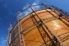 Container 1 van het gas Stock Foto