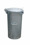 Container. Garbage metal container isolated on white Stock Images