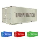 Container illustrazione di stock