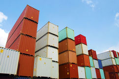 Container Royalty Free Stock Photo