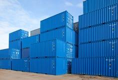 container Royalty-vrije Stock Afbeeldingen