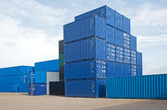 container Stock Afbeelding