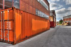 Container stock foto