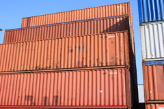 Container Royalty-vrije Stock Foto