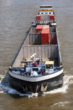 Container barge Royalty Free Stock Image