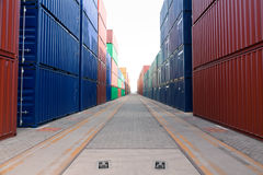 Container blocks Royalty Free Stock Images