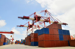 Container blocks Stock Images