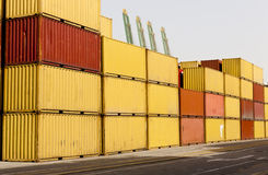 Container blocks Stock Photography