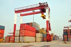 Container blocks Stock Image