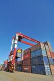 Container blocks Royalty Free Stock Image